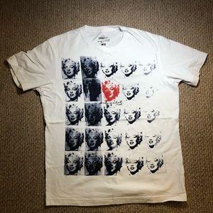 5652c84b7a696e Uniqlo Shirts - Andy Warhol   Marilyn Monroe art shirt by Uniqlo